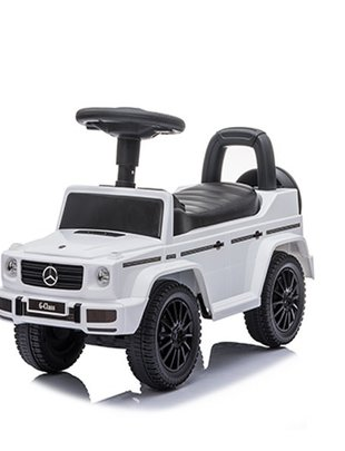 Happy-Car Happy Cars Loopauto Mercedes Jeep Wit
