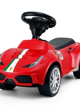 Happy-Car Happy Cars Loopauto Ferrari Rood