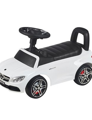 Babylonia Happy Cars Loopauto Mercedes Coupe Wit