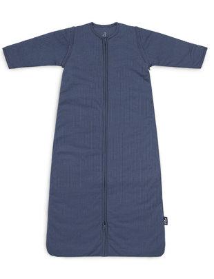 Jollein Jollein Baby Slaapzak met Afritsbare mouwen Basic Stripes Jeans Blue