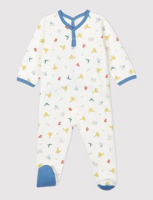 Petit Bateau Petit Bateau Pyjama Unisex Met Dierenprint