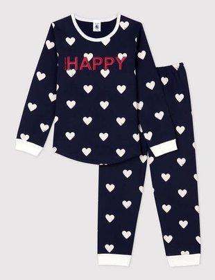 Petit Bateau Petit Bateau Pyjama Unisex 2-delig 'Happy'