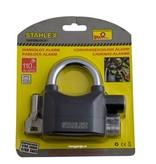 Stahlex Hangslot met 110db alarm