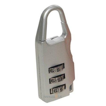 Stahlex Cijferslot 20mm Grijs