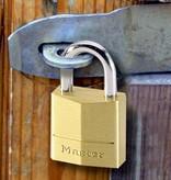 Masterlock Hangslot gelijksluitend 40mm 4 stuks