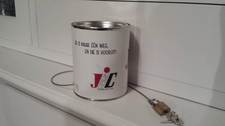 Hangslotje Sponsor Justincase
