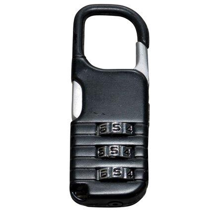 Cijfer-slot 20mm Zwart