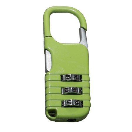 Cijfer-slot 20mm Groen