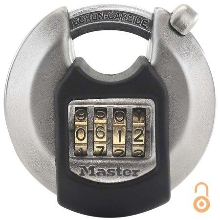 Masterlock Excell Hangslot - Combinatie