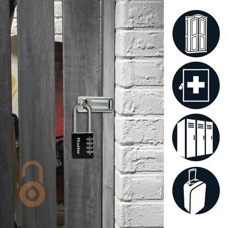 Masterlock Massief Aluminium huis - Stalen beugel