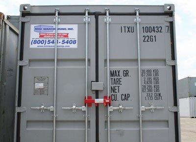 Containersloten