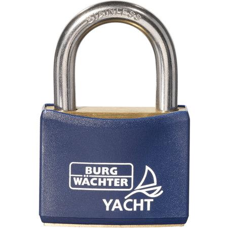 Burgwächter Yacht hangslot zeewater bestendig Gelijksluitend 40mm