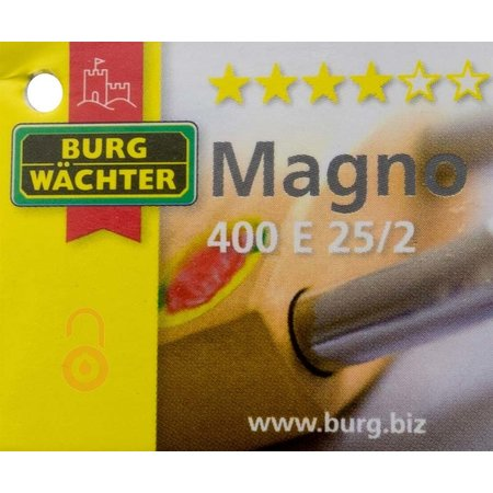 Burgwächter 400 E Magno Gelijksluitend 40mm