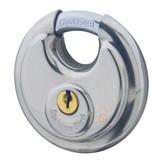 Lock-it Discus 70mm RVS  Gelijksluitend Extra voordelig