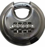 Stahlex Discussloten 70mm met cijfercombinatie