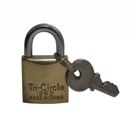 Tri-Circle Hangsloten gelijksluitend 20mm