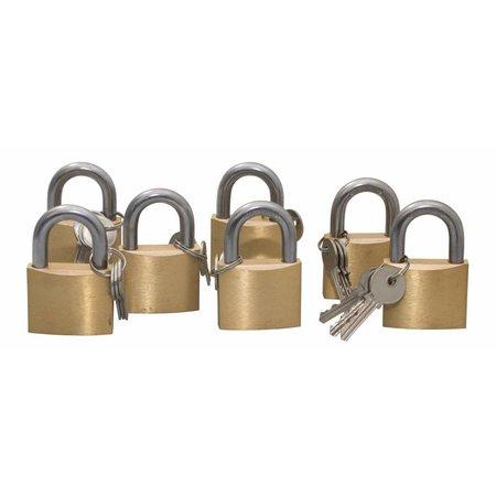 Lock-it Hangslot blanco 50mm 7 stuks aktie