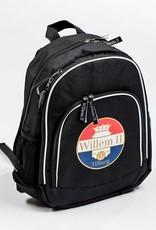 Willem II Zwarte rugzak met Willem II logo