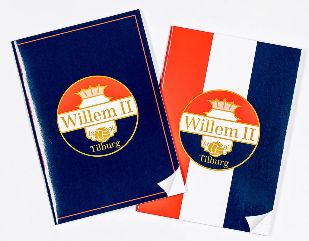 Willem II Set van twee schriften