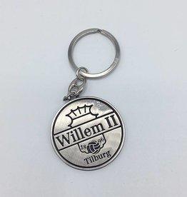 Willem II Sleutelhanger metal