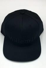 Willem II Zwarte snapback cap
