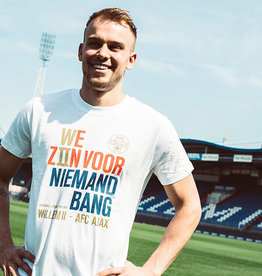 Willem II Wit casual shirt bekerfinale