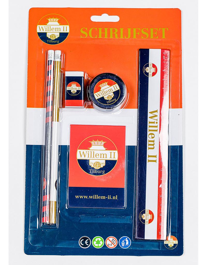 Willem II Schrijfsetje met Willem II print
