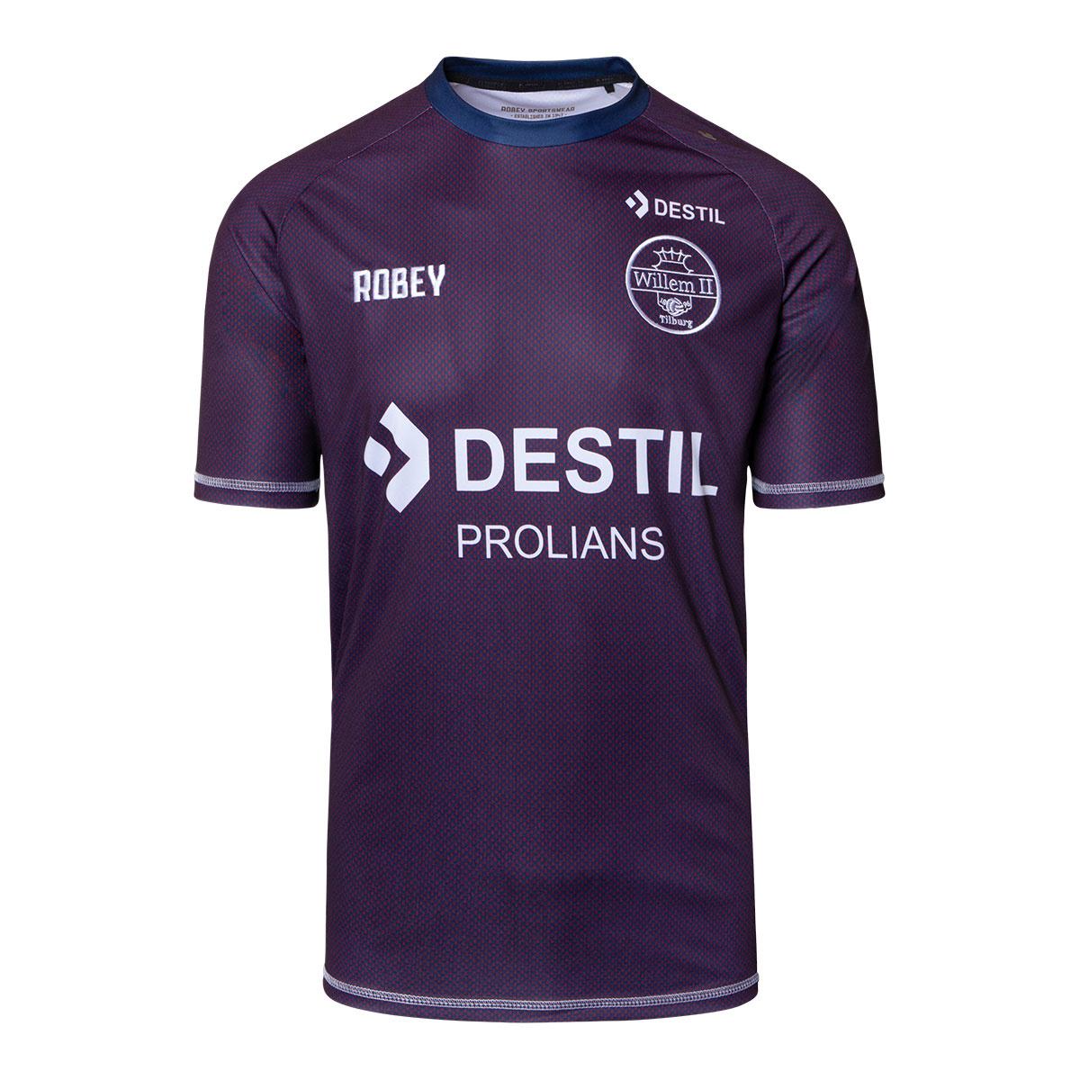 Robey Willem II trainingsshirt senior 2019 - 2020