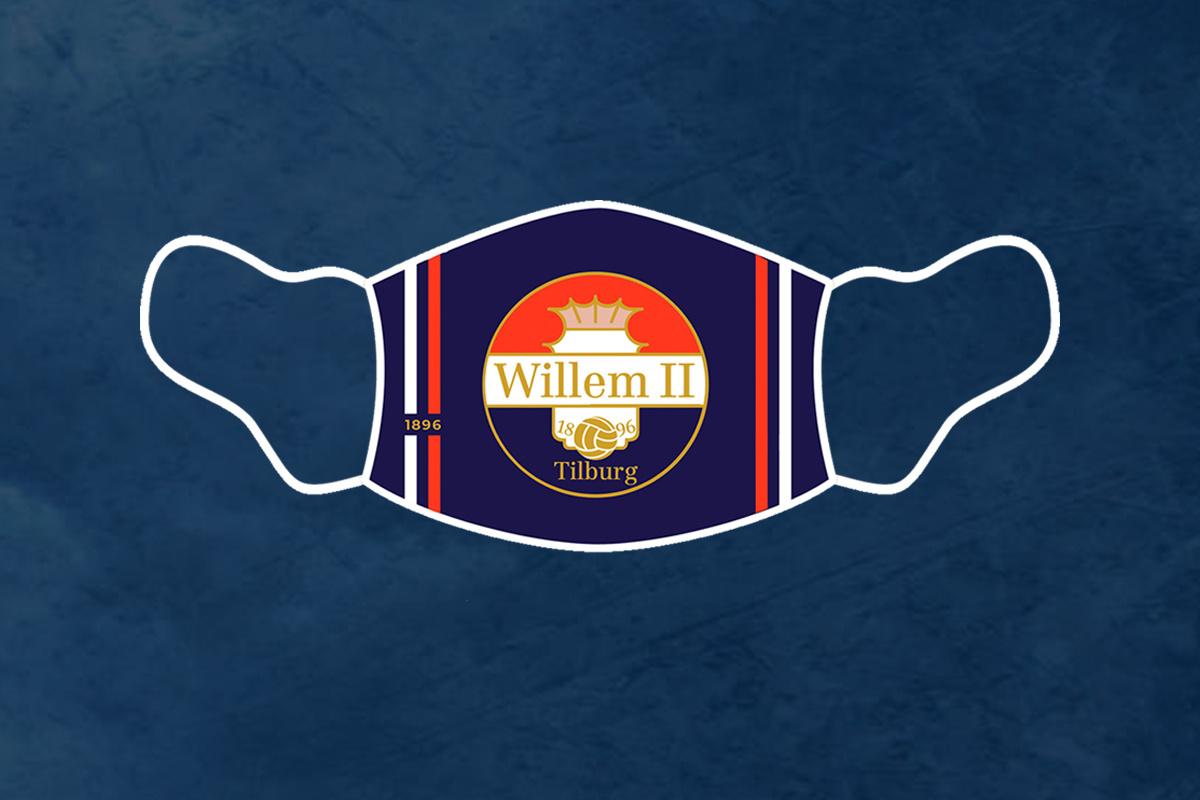 PRE ORDER: Willem II-Mondmasker (3 stuks)