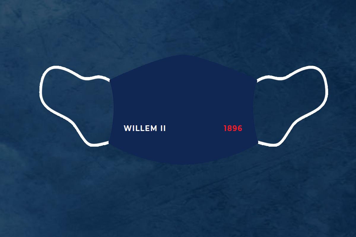 PRE ORDER: Willem II-Mondmasker 1896 (3 stuks)