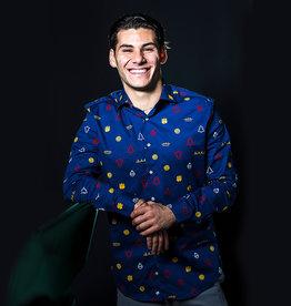 Opposuits Willem II Kerstoverhemd
