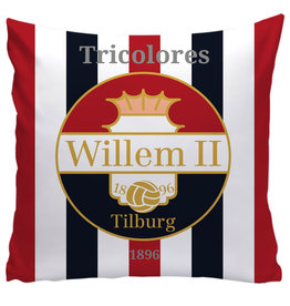 Willem II kussen - thuis 35x35