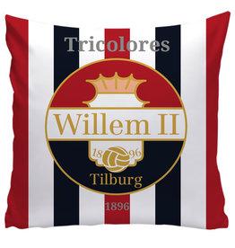 Willem II kussen - thuis 50x50