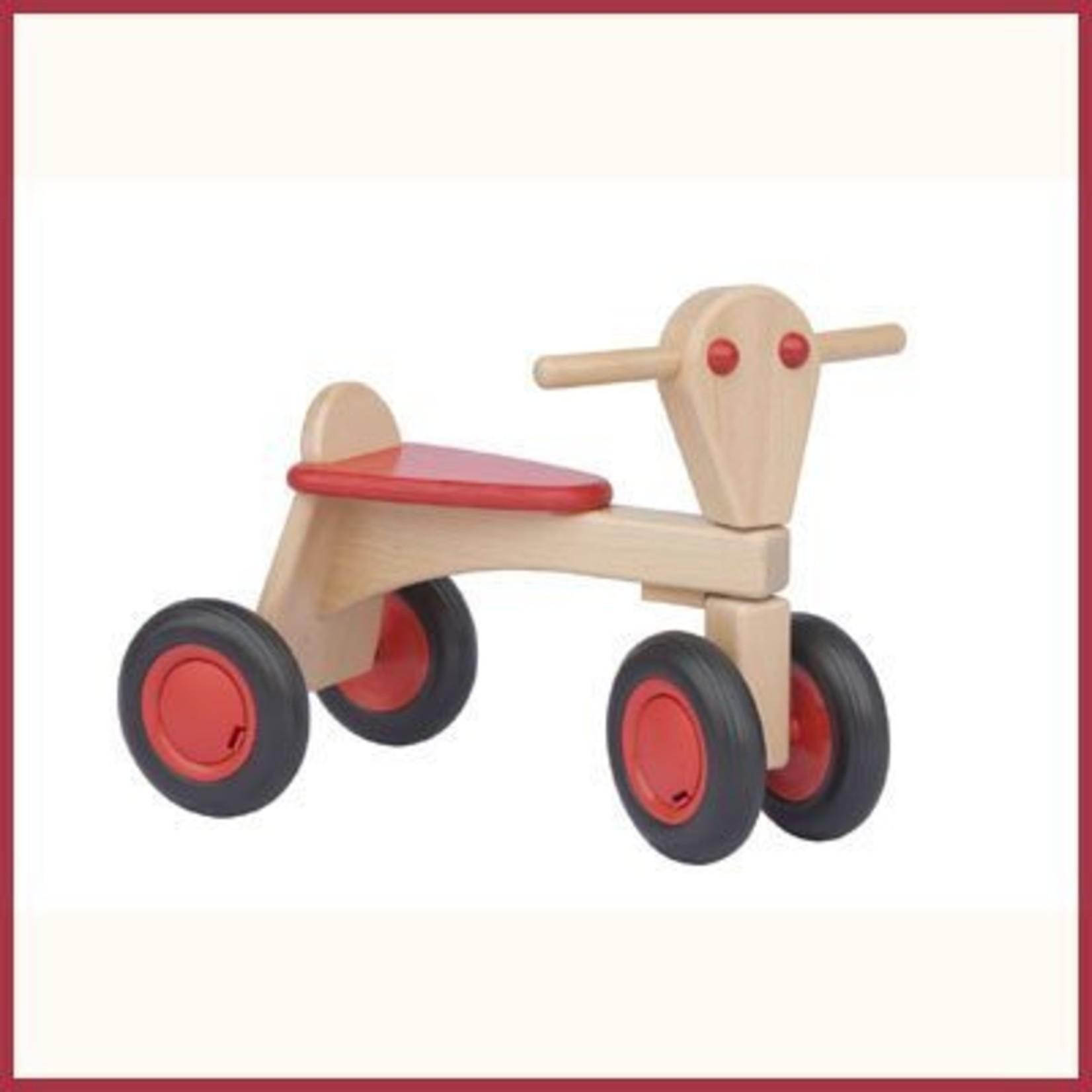 Van Dijk Toys Houten Loopfiets -