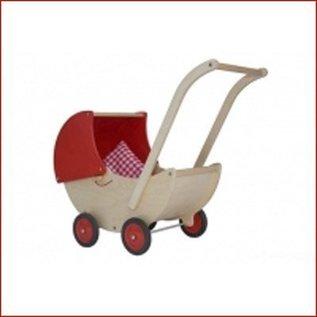 Van Dijk Toys Poppenwagen beweegbare kap