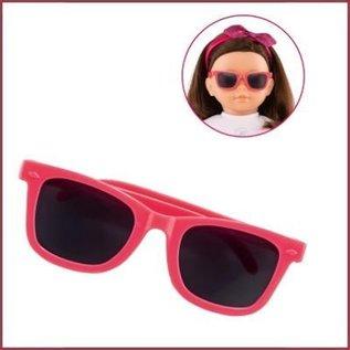 Corolle Zonnebril Cerise voor Ma Corolle poppen (36 cm) Roze