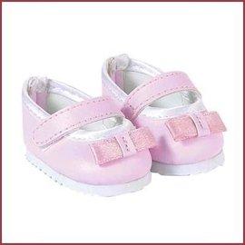 Corolle Schoentjes pop roze met strik