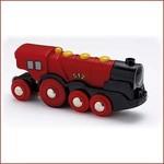 Brio Rode batterij Locomotief