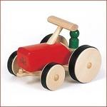 Nic Houten Tractor Rood
