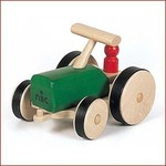 Nic Houten Tractor Groen