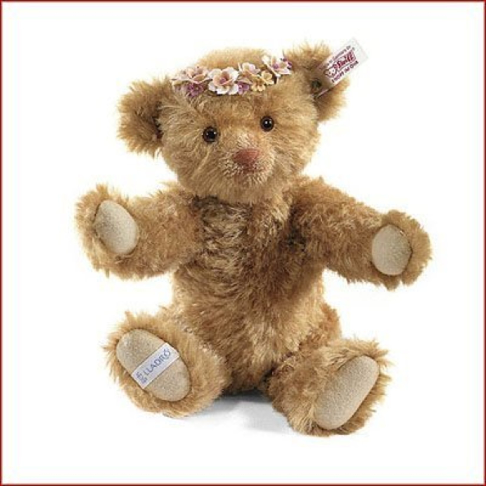 Steiff Autumn Teddy Bear Mohair