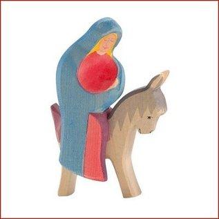 Ostheimer Maria op het ezeltje
