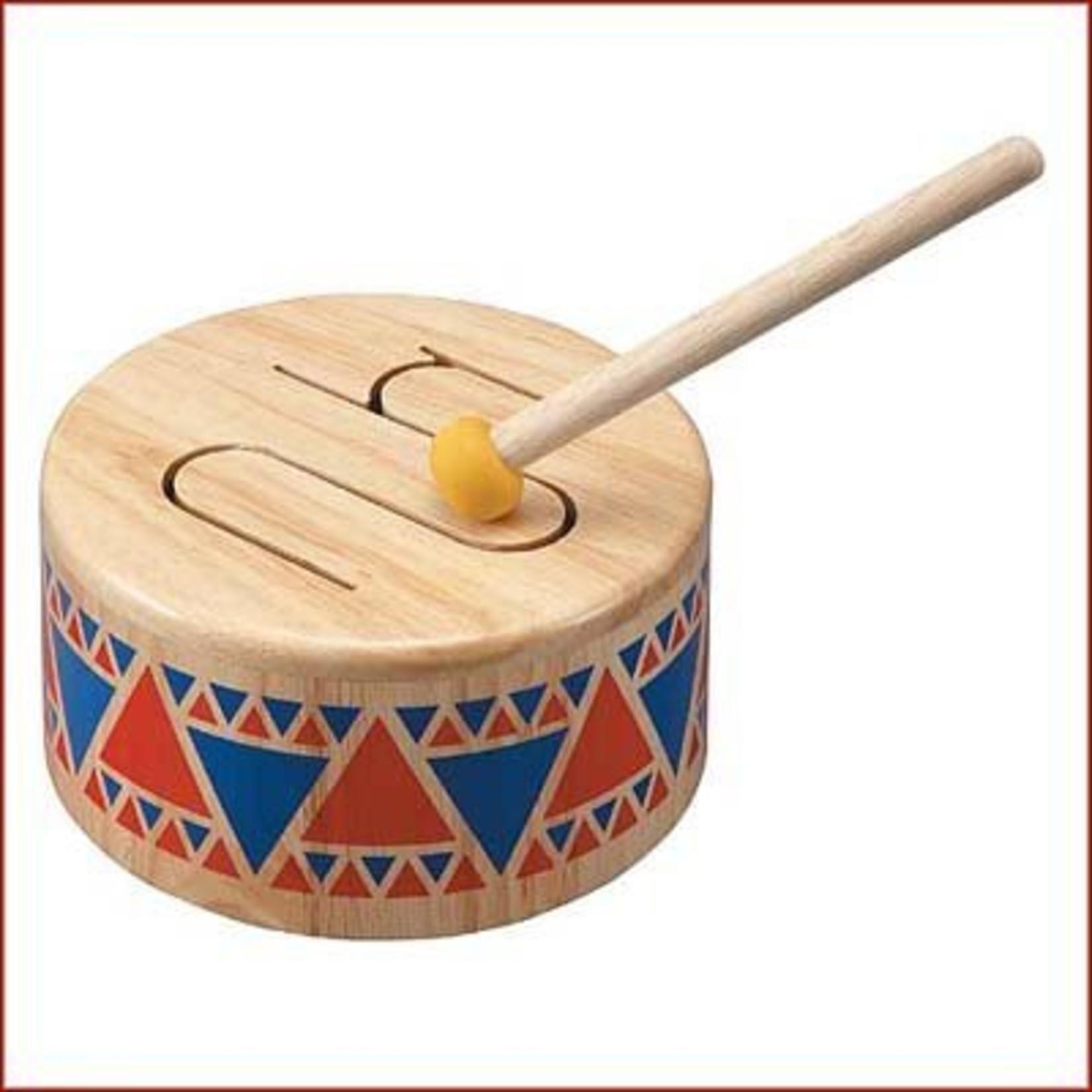 Plantoys Solid Drum van hout
