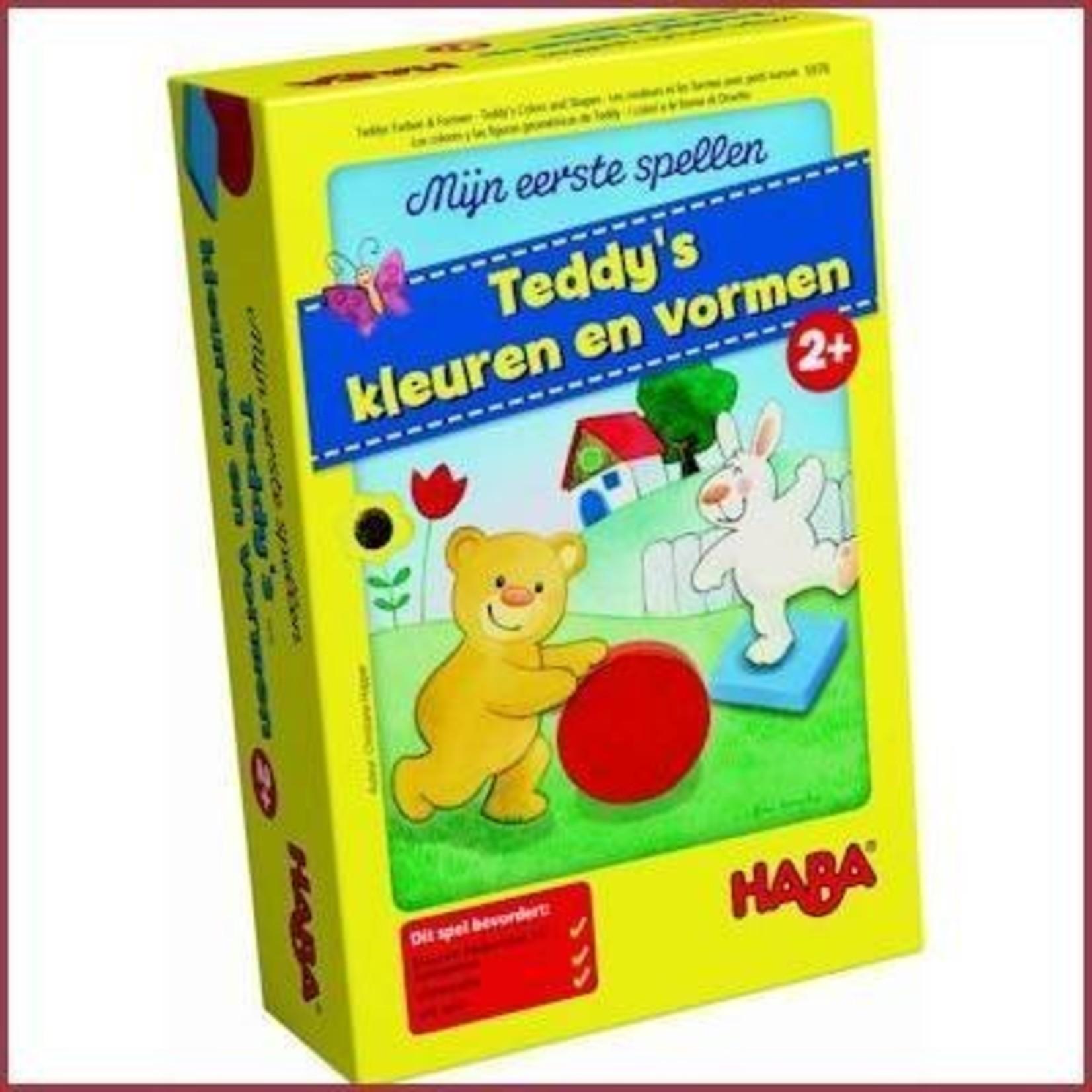 Haba Mijn eerste spel - Teddy's kleuren en vormen