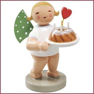 Wendt & Kühn Grunhainichense Engel met cake