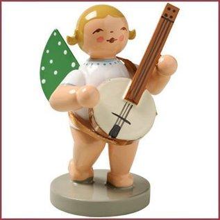 Wendt & Kühn Grunhainichense Engel met banjo