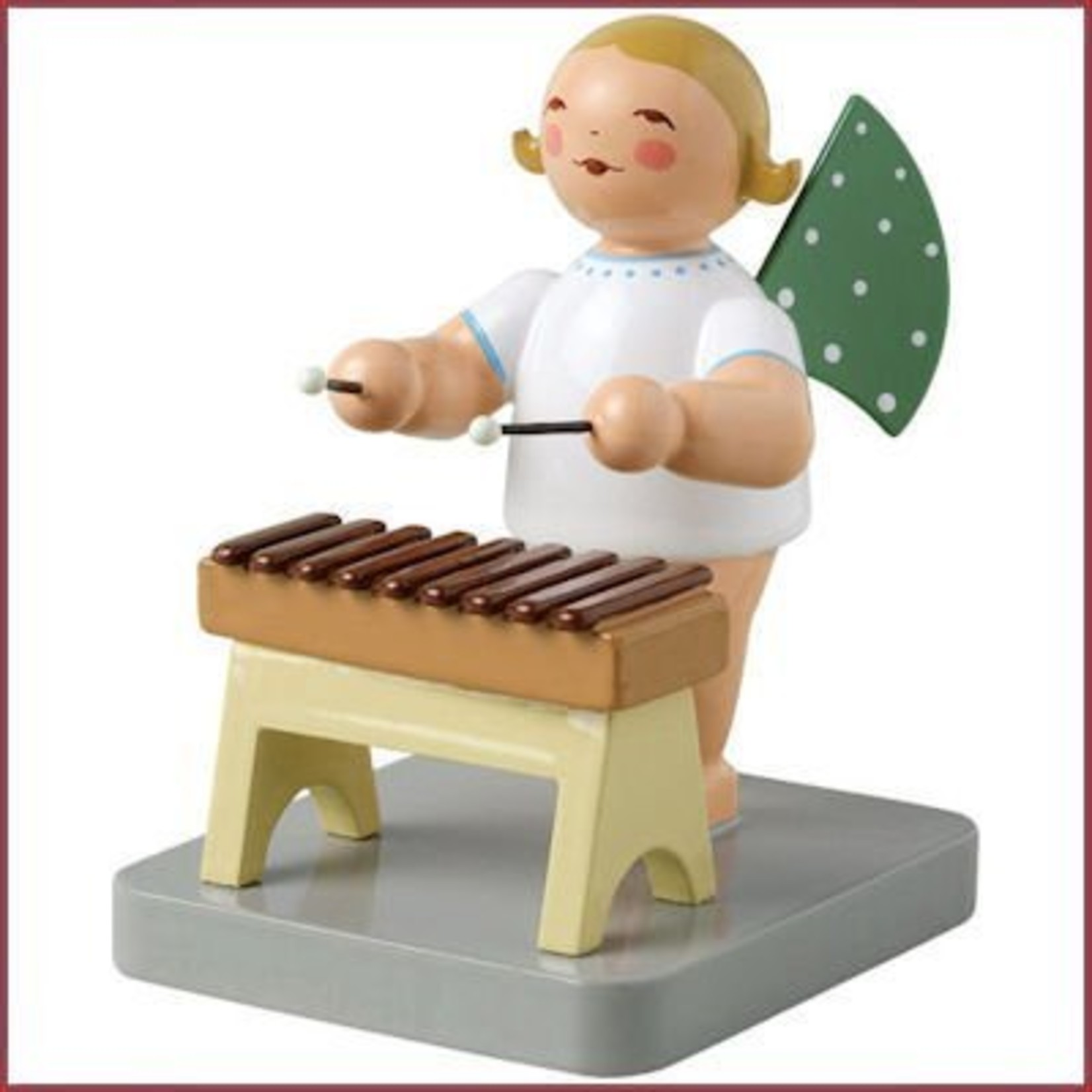 Wendt & Kühn Grunhainichense Engel met xylofoon