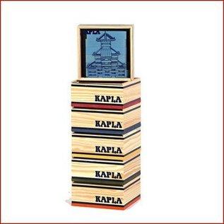 Kapla KAPLA/Gekleurde Kabouterplankjes, 40 stuks
