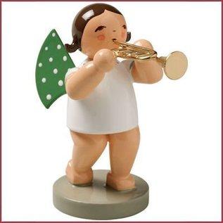 Wendt & Kühn Grunhainichense Engel met trompet