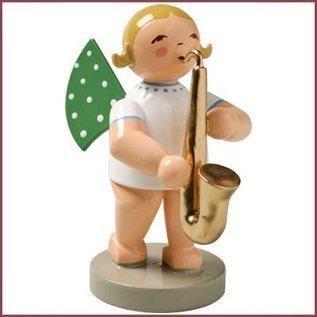 Wendt & Kühn Grunhainichense Engel met saxofoon